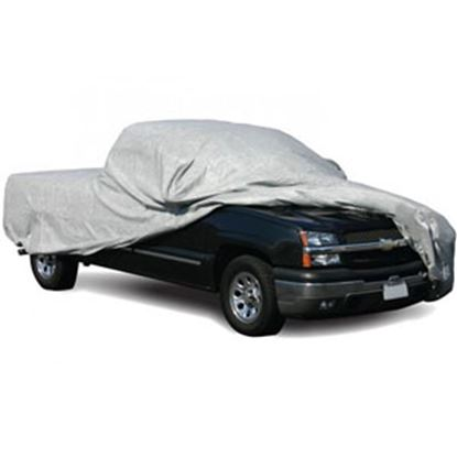 "Picture of ADCO SFS AquaShed (R) Gray 3 Layer Fabric Large Cover For Long Bed 270""L Pick-Up Trucks 12280 01-0007"