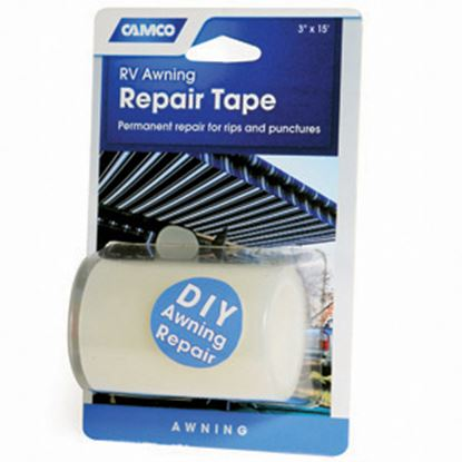 "Picture of Camco  White 3"" x 15' L Multi Purpose Tape 42613 01-0920"