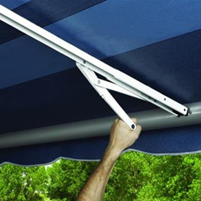 Picture of Carefree Rafter VII White 7' L Outer Awning Ground Support Arm 902315WHT 01-1000