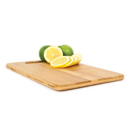 """Picture of Camco  Natural 7-7/8""""L x 11-13/16""""W x 1/2""""H Bamboo Cutting Board 43544 03-0555"""
