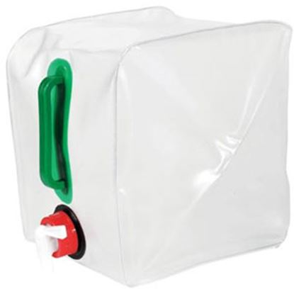 Picture of Camco  2 Gal Translucent Plastic Collapsible Water Carrier 51085 03-1013