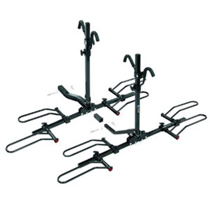 "Picture of Pro Series Hitches  4-Bike Q Slot w/ Tilt 2"" Receiver Hitch Mount Bike Rack 63138 05-0004"