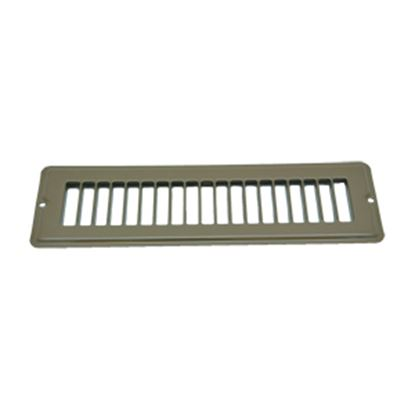 """Picture of AP Products  Brown 2-1/4""""W x 10""""L Floor Heating/ Cooling Register w/o Damper 013-643 08-0156"""