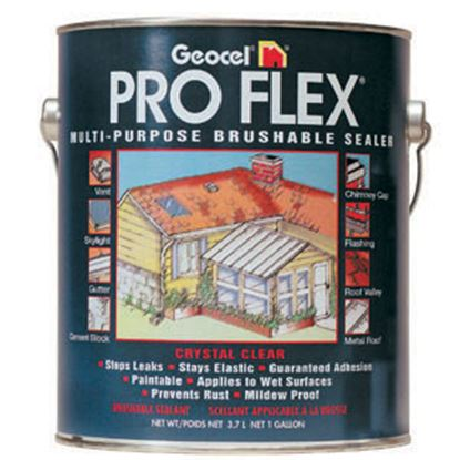 Picture of Geocel Pro Flex (R) 1 Gal Can Clear Roof Coating GC22300 13-0632