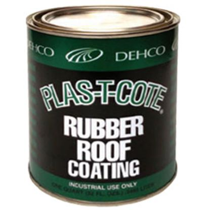 Picture of Plas-T-Cote  1 Qt White Roof Coating 16-46032 13-1540