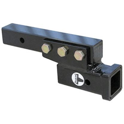 """Picture of Blue Ox  2"""" Hitch Receiver Tube Adapter w/ 3"""" Drop/ Rise BX88235 14-5251"""
