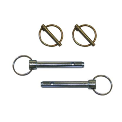"Picture of Blue Ox  2-Pack 1/2""D Trailer Hitch Pin w/Clip 84-0140 14-5343"