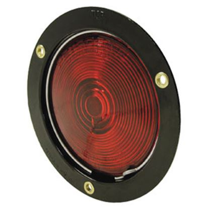 "Picture of Peterson Mfg.  Red 4"" Round Turn/ Tail Light V413 18-0320"