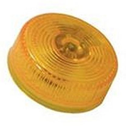 "Picture of Peterson Mfg.  Amber 2"" Dia Clearance Side Marker Light V146A 18-0497"