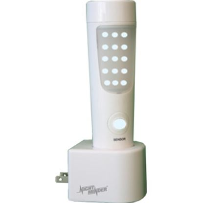 Picture of Minder NightMinder (R) White Motion Activated LED Light w/ Switch NM-MOTION-002 18-0602