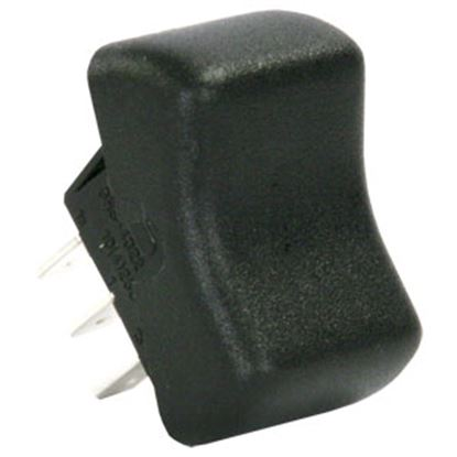 Picture of JR Products  Black 125V/ 8A SPDT Rocker Switch 12265 19-0162