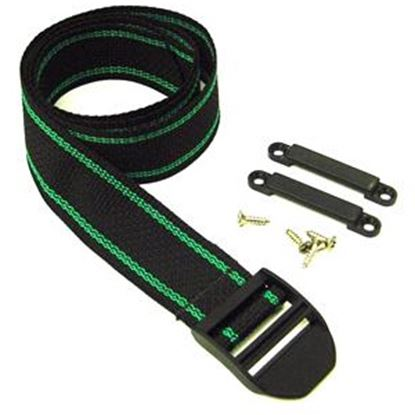 """Picture of AP Products  44"""" Black Tie Down Strap 013-201 19-0743"""