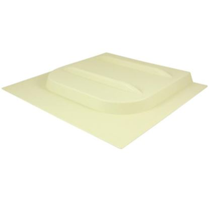 """Picture of Valterra E-Series 12-1/8""""H X 10-3/4""""W Ivory Plastic Screen Door Slide W/Stop A77015 20-0152"""