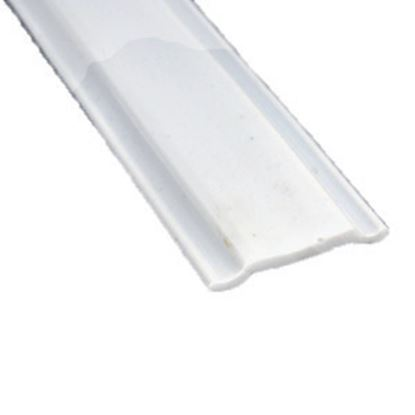 "Picture of AP Products  Colonial White Plastic 5/8""W X 25'L Trim Molding Insert 011-368 20-1397"