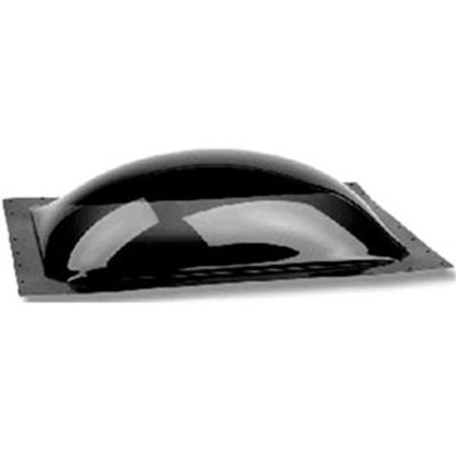 """Picture of Specialty Recreation  2-1/2""""H Bubble Dome Rectangle Smoke Black Polycarbonate Skylight SL1630S 22-0071"""