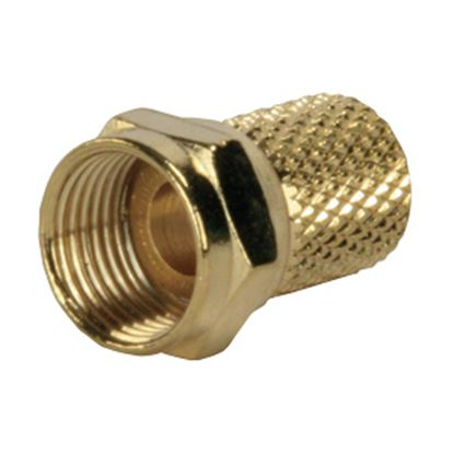 Picture of JR Products  RG6 Coaxial Twist-On Antenna Cable Connector 47275 24-0388