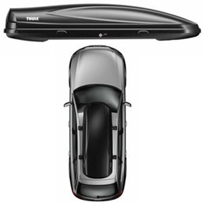 Picture of Thule Force XXL Matte Black 21CF Dual Side Opening Cargo Carrier 626 25-2681