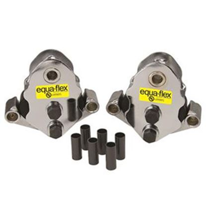 """Picture of Correct Track Equaflex Triple Axle Trailers Leaf Spring Equalizer For 7-1/2""""W Spring 279689 46-0415"""