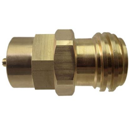 Picture of MB Sturgis  #600 Female Inlet x Male Type 1 Brass LP Adapter Fitting 204132 66-7055